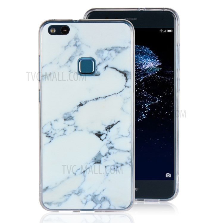 Purchased Marble Pattern Tpu Pc Hybrid Phone Cover For Huawei P10 Lite White