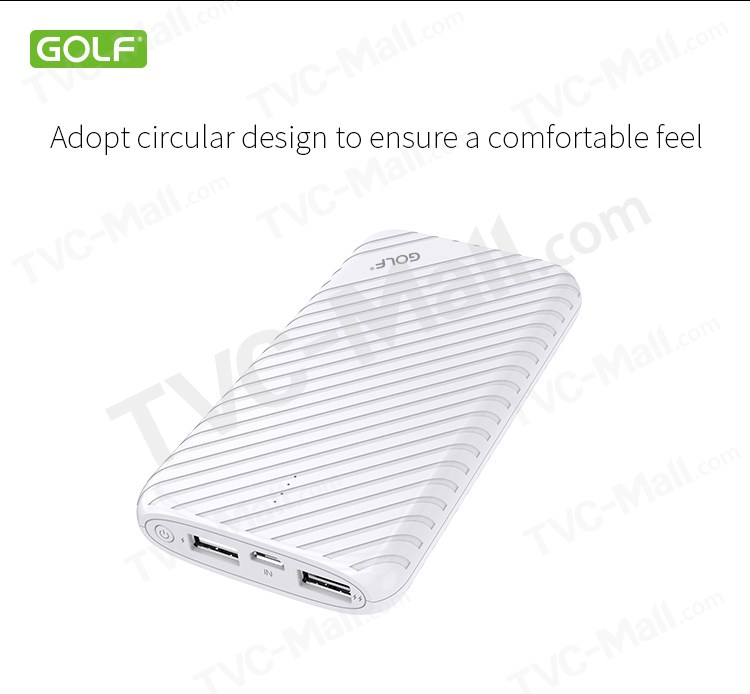 GOLF G17GB Pineapple Series 8000mAh Power Bank for iPhone