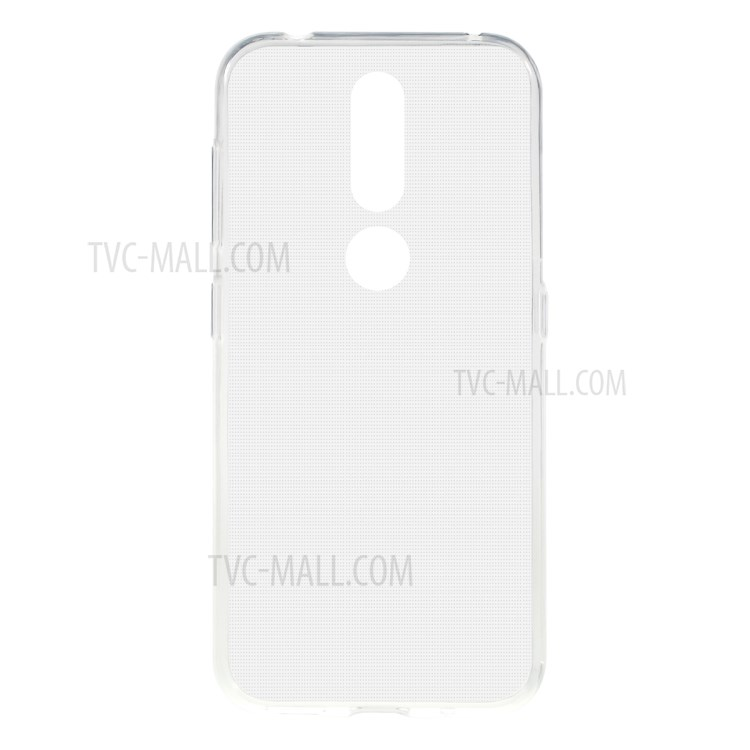 Clear 1.0mm Thickness Soft TPU Phone Case for Nokia 4.2