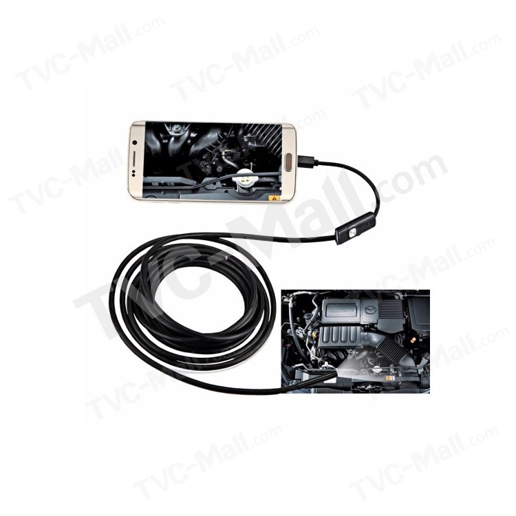 1m Tough Cable AN97 Waterproof Micro USB Endoscope Snake