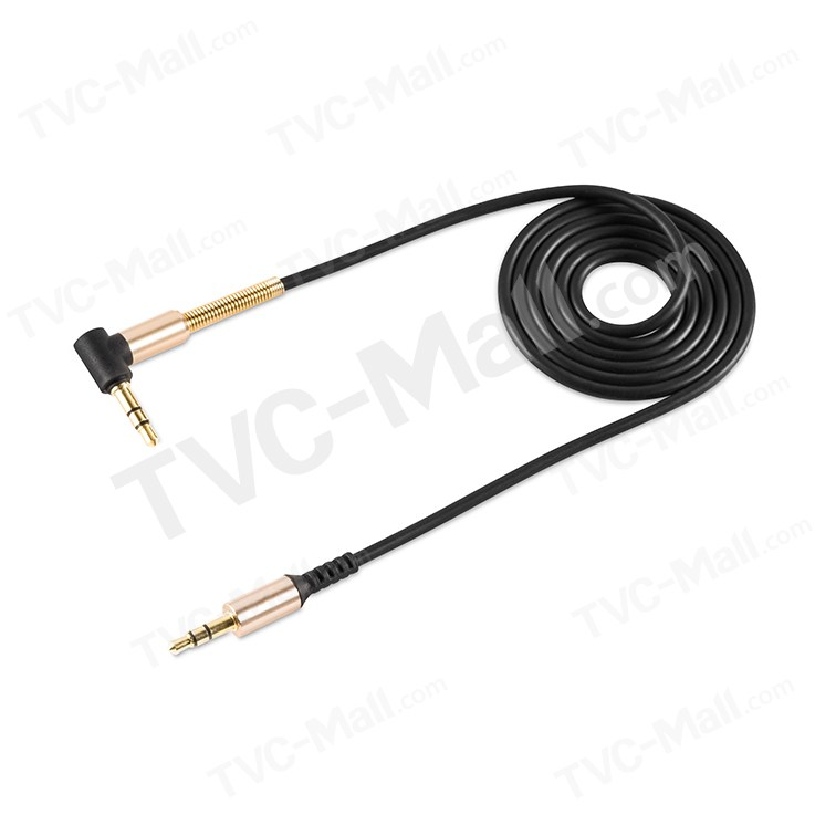 HOCO UPA02 AUX Spring 3.5mm Audio Cable Male to Male 1m