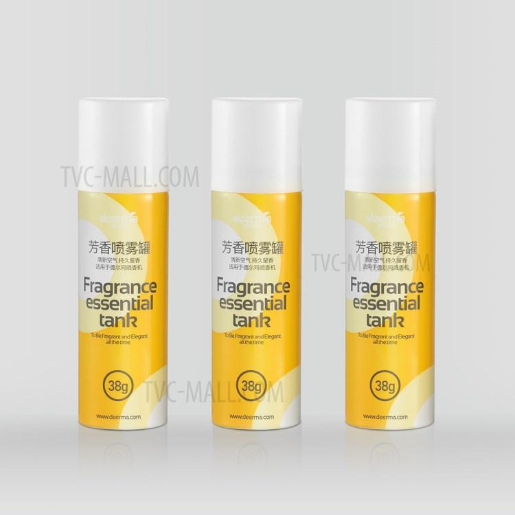 XIAOMI DEERMA DEM-HC666 Fragrance Essential Tank Aroma Spray Cans [3Pcs/Box]-4