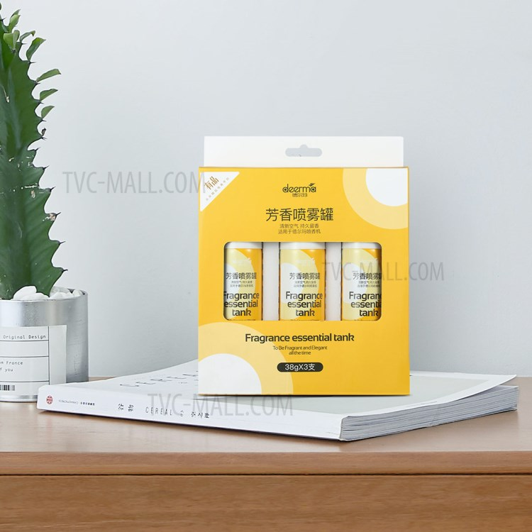 XIAOMI DEERMA DEM-HC666 Fragrance Essential Tank Aroma Spray Cans [3Pcs/Box]-6