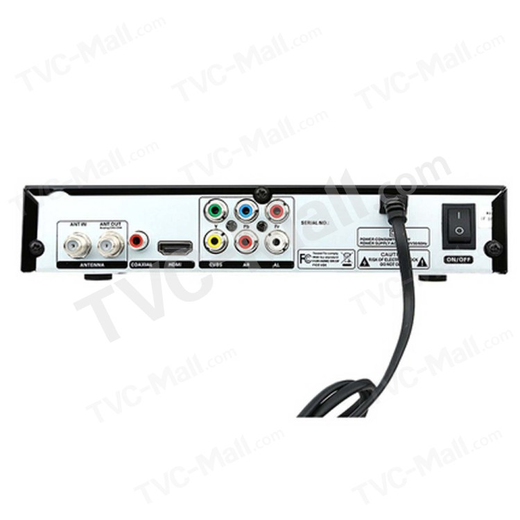 1080P Full HD ATSC Digital TV Converter Signal Receiver
