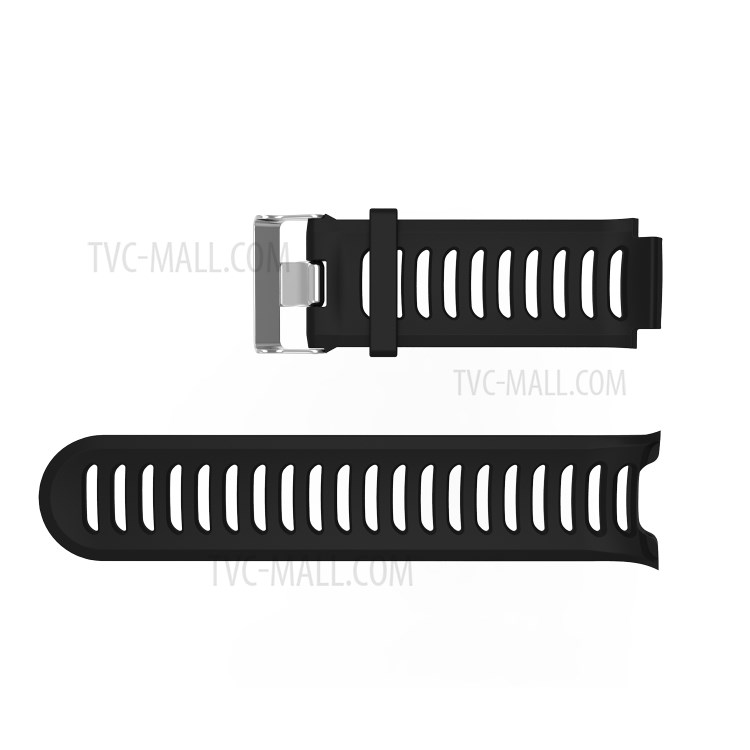 Metal Buckle Flexible Silicone Watch Band Replacement with