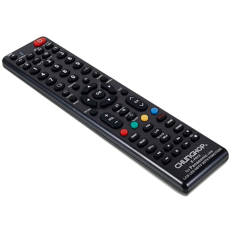 CHUNGHOP E-P912 Remote Controller for PANASONIC LED TV LCD