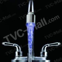LD8001-A5 LED Water Faucets Light Taps for Kitchen Tap ...