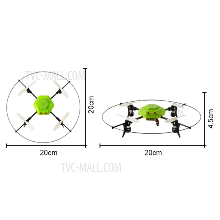 Inverted Flight Inversion Drone 6 Axis Gyro 2.4G RC