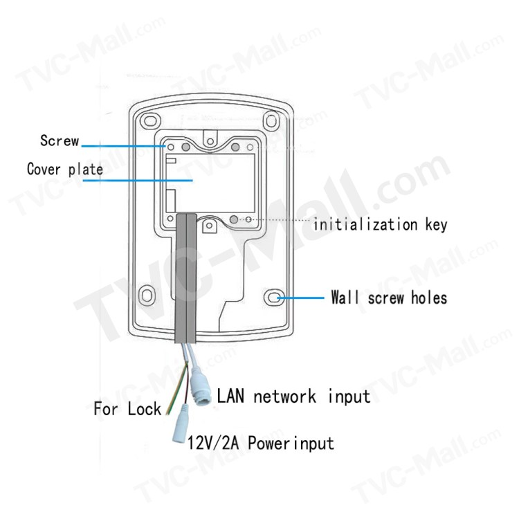 Smart WiFi IP Video Doorbell Support Motion Detection IR
