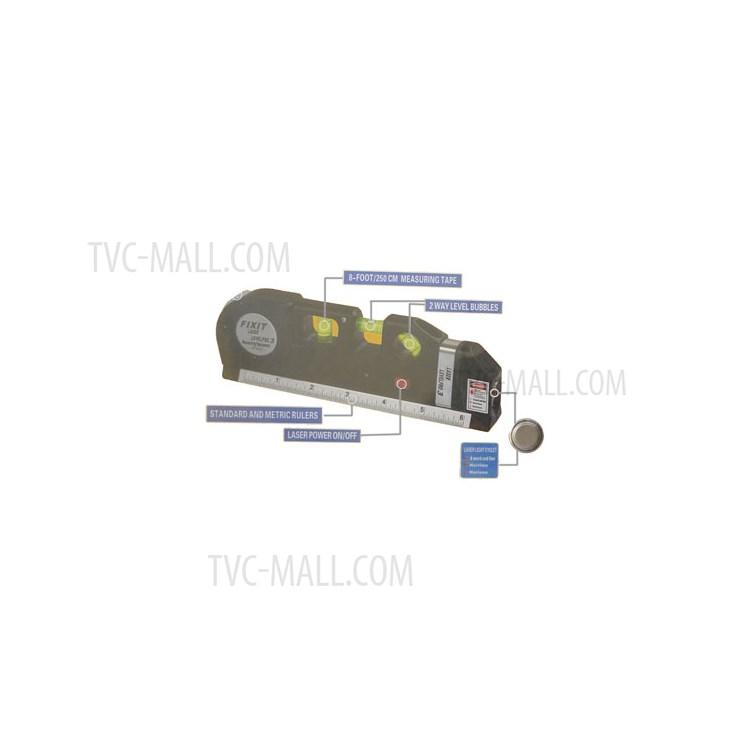 Multipurpose Fixit Laser Levelpro3 Measuring Equipment 8FT