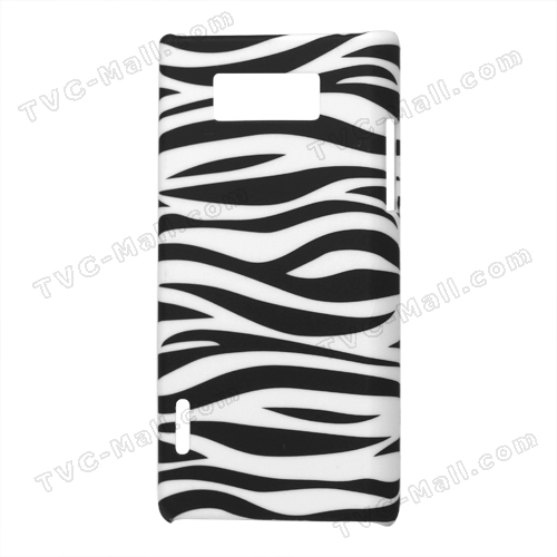 Zebra Stripe Hard Case Cover for LG Optimus L7 P700 P705