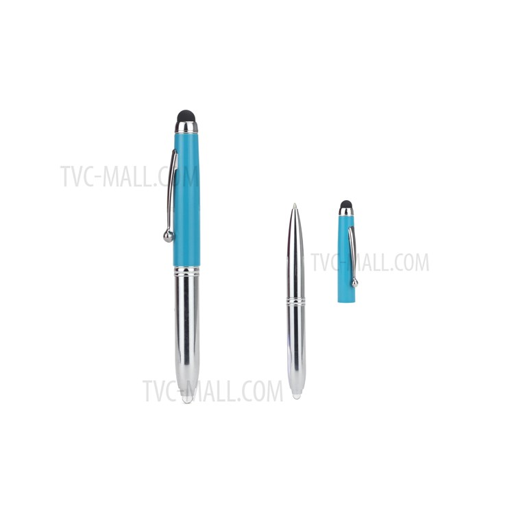3 in 1 LED Touch Pen Stylus and Ballpoint Pen for iPhone