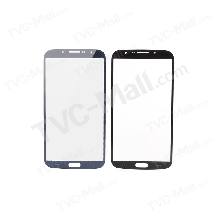 Blue Front Outer Screen Glass Lens for Samsung Galaxy Mega