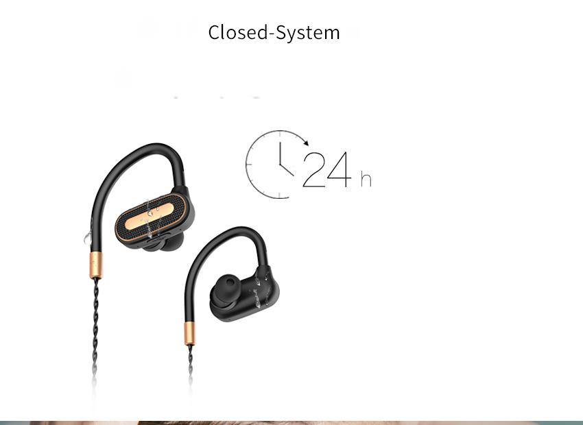 SMA-23 Earhook Waterproof Stereo Sports Bluetooth Headsets