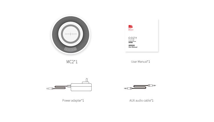 NILLKIN MC2 2-in-1 Qi Wireless Charger Bluetooth Stereo