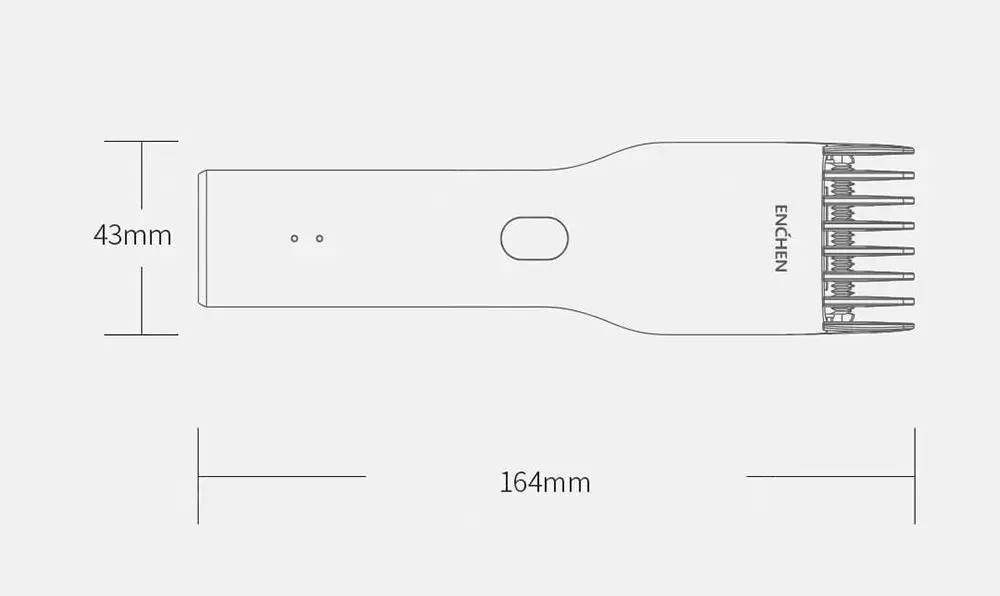XIAOMI YOUPIN ENCHEN Boost Hair Clipper Trimmer for Adult