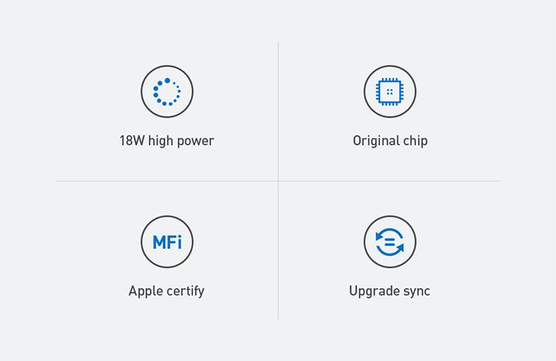 RELIQO 1.2M USB-C Male to MFi Certified Lightning 8Pin