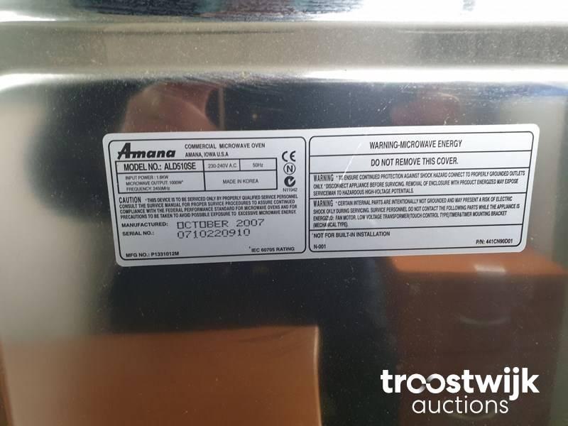 amana microwave oven troostwijk