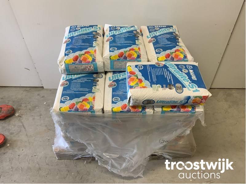 mapei ultralite s1 lot of tile adhesive