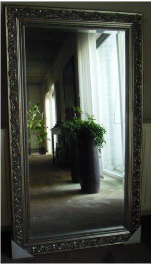 Barok Zilver Spiegel Facet Geslepen Ook Maatwerk Spiegels