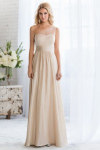Tan Bridesmaid Dresses | Colored Lace Dresses - UCenter Dress
