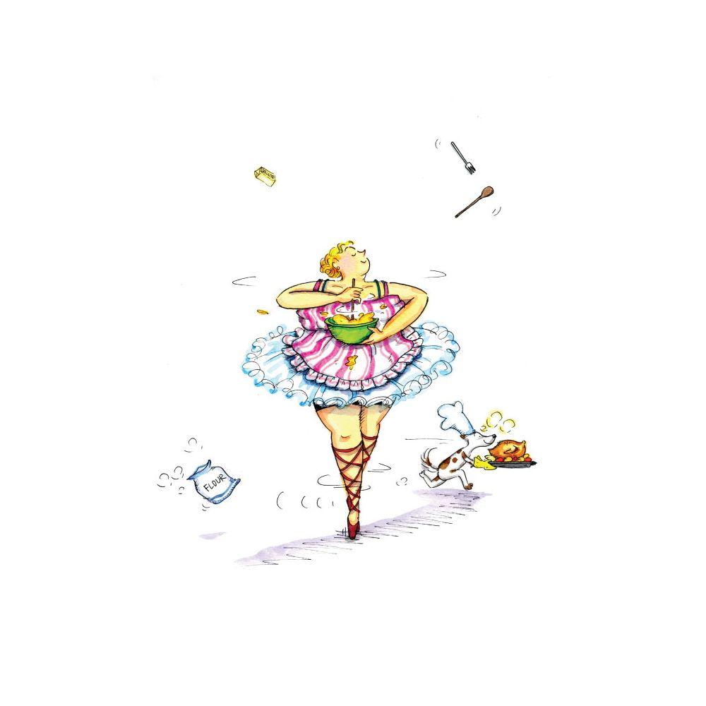 時刻創意|胖胖芭蕾舞孃-系列02 | 有.設計 uDesign