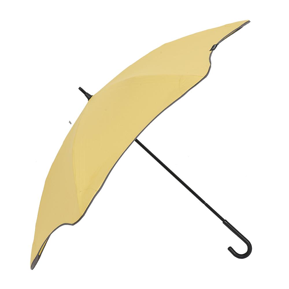 紐西蘭 Blunt 保蘭特|五年全新保固 完全抗UV勾勾輕量直傘 (糖果黃) | 有.設計 uDesign