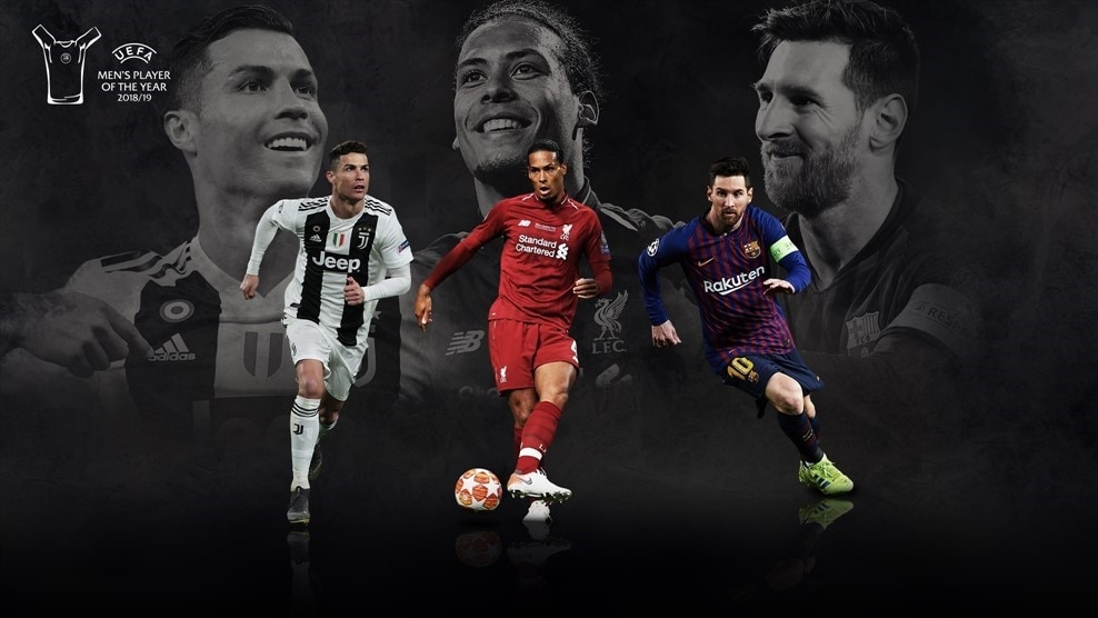 Image result for UEFA player of the year award