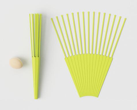 kitchen whisk electric redoing 手动打蛋器设计 巧妙原生态实用厨房小工具 优概念 将解决通常打蛋器难以清洗的缺点 采用pp塑料进行制作 看上去像是一把折扇 将之折叠起来就能变成一个拂尘 般的打蛋器 而一旦用毕 将之展开就能清洗 非常方便
