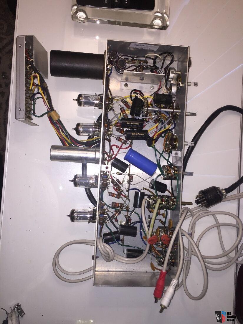 medium resolution of pilot sp 210 stereo preamplifier upgraded capacitors cardas golden ratio mundorf silver gold