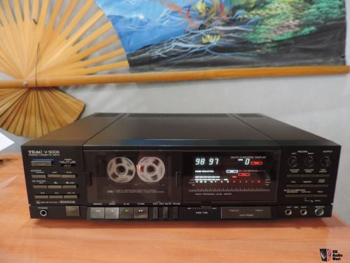 small resolution of teac v 900x cassette tape deck