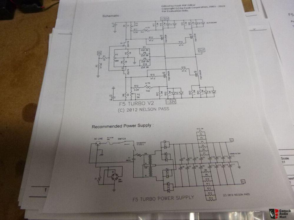 medium resolution of nelson pass first watt diy f5 v2 turbo kit 50 watts pp class a power amp