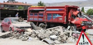 Ankara'da can pazarı! Freni boşalan kamyonet neden oldu
