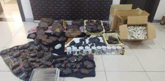 Mersin'de polis 145 kilo gram balina kusmuğu ele geçirildi servet değerinde