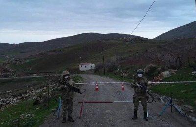 Siirt'te güvenlik korucusunun testi pozitif çıkınca köy karantinaya alındı