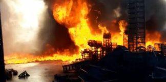 Tarsus Hali'nde korkutan yangın - Internet Haber