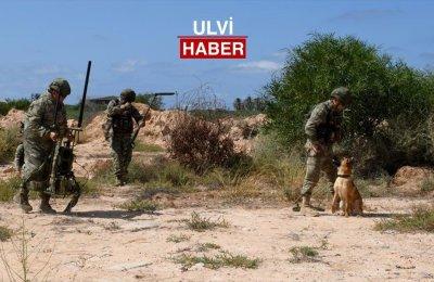 Libya ve Türkiye'nin ortak çalışma timleri Trablus'ta mayın imha çalışmalarını sürdürüyor