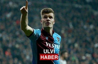 Trabzonspor 'da Sörloth krallığını da kimseye bırakmadı