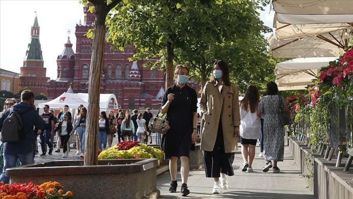 Rusya'da Kovid-19 vaka sayısı 1 milyon 122 bini geçti