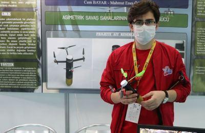 KTÜ öğrencileri '40 Milimetrelik Bomba Entegreli Multikopter' tasarladı