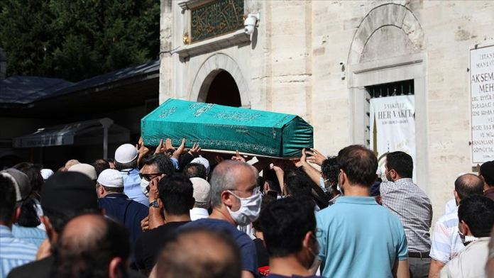 Bediüzzaman Said Nursi'nin talebelerinden Mehmet Fırıncı son yolculuğuna uğurlandı