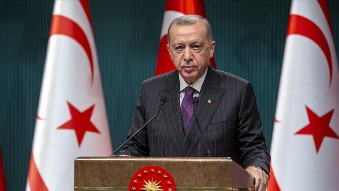 Cumhurbaşkanı Erdoğan: Maraş'ın bütünüyle kullanıma açılmasını temenni ediyoruz