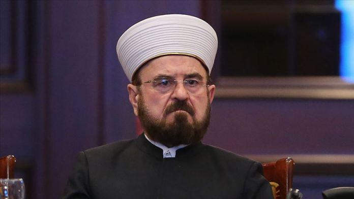 Dünya Müslüman Alimler Birliği Genel Sekreteri'nden Mısır Başmüftüsü'ne tepki