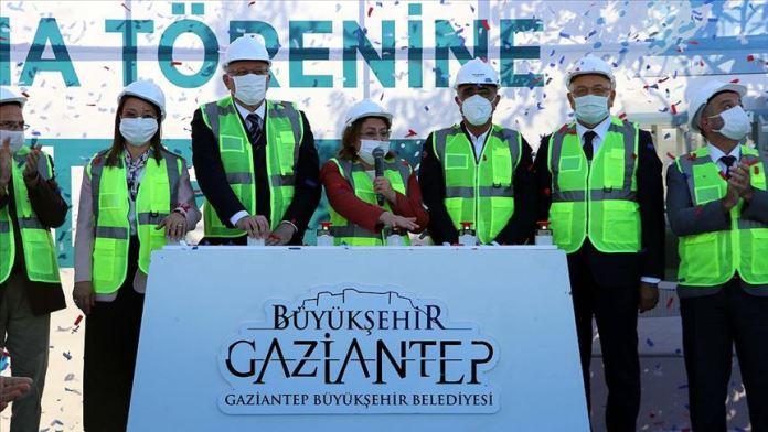 Gaziantep'te 'Müzeyyen Erkul Bilim Merkezi'nin temeli atıldı