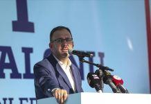 Gençlik ve Spor Bakanı Kasapoğlu, Konya'da olimpik yüzme havuzunun temelini attı