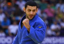Milli judocu Vedat Albayrak'tan Macaristan'da altın madalya