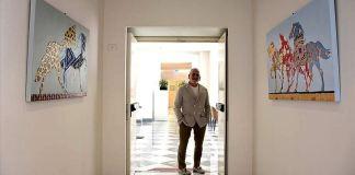 İtalyan ressam Ballarin: Ben resimlerimde halklar ile doğu ve batı arasında köprüler kurma arayışındayım