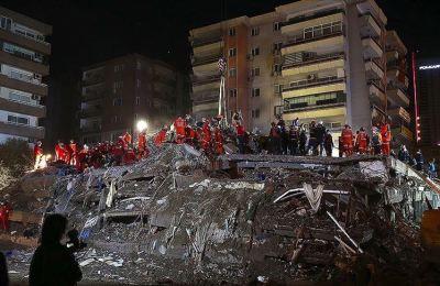 İzmir'deki deprem için taziye dünyadan taziye mesajları