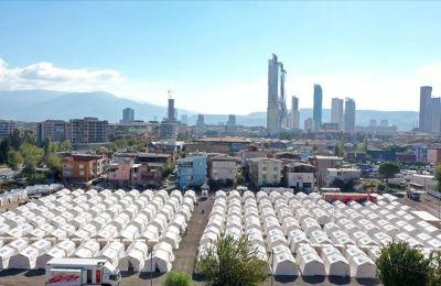 Deprem bölgesine gönderilen nakdi yardım 37 milyon liraya ulaştı