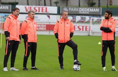 Abdullah Avcı Trabzonspor'da ilk antrenmanına çıktı